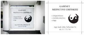 Reklama_SebastianYe_GabinetMedycynyChińskiej_Rzeszów